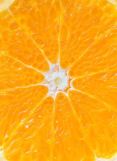 Orange frisch
